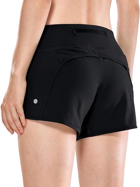 Amazon.com: CRZ YOGA - Pantalones cortos de deporte para ...