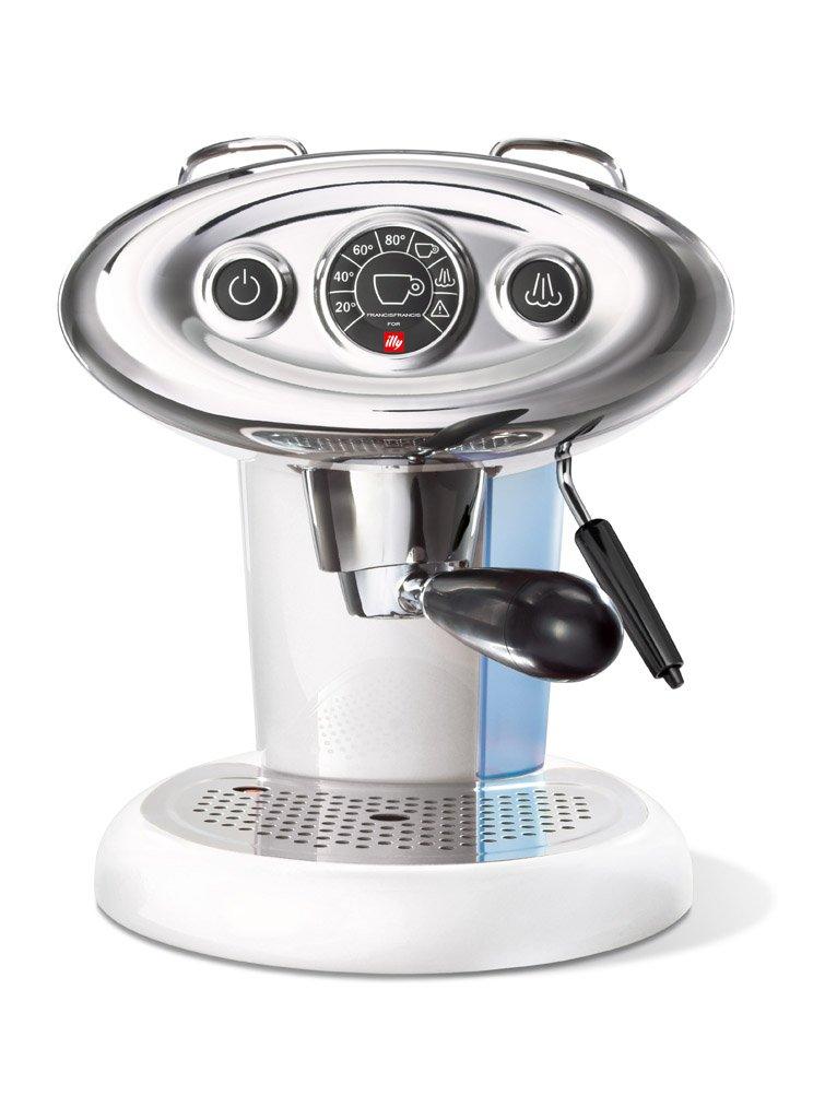illy METODO iPERESPRESSO Dedicated espresso machine ''FrancisFrancis! X 7.1'' (White)【Japan Domestic genuine products】