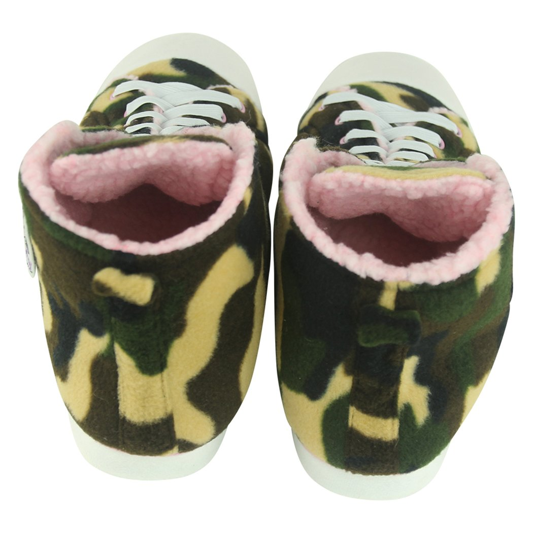 Home Slipper Kids Big Boys Girls Plush Soft Indoor House Fashion Sneaker Slippers