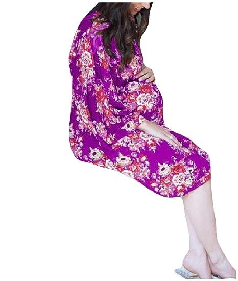 Purple High Waisted Dress
