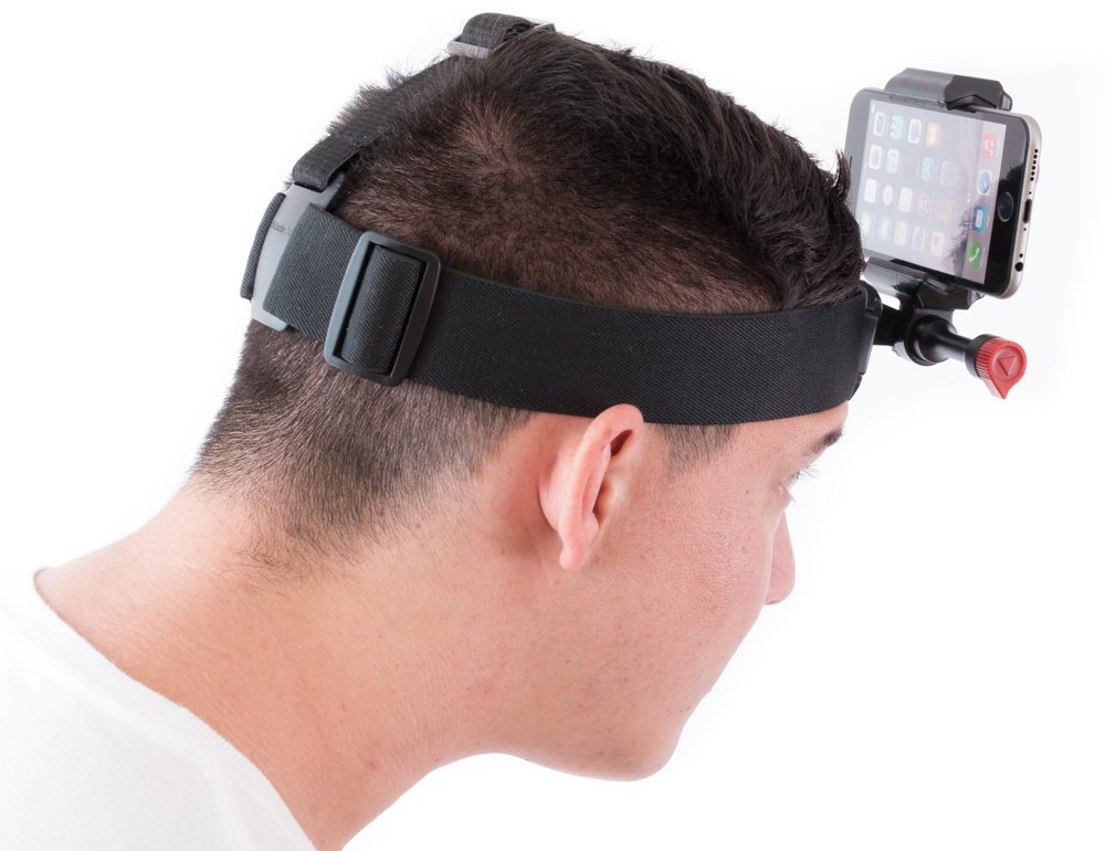 6 Velocity Clip 4069909 Phone Video Head Camera Mount for iPhone 4 5