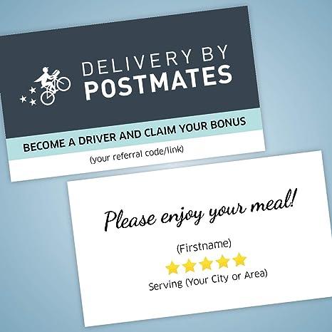 Amazon.com: Postales 5 estrellas tarjetas de visita ...
