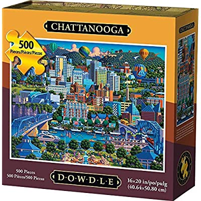 Dowdle Jigsaw Puzzle - Chattanooga - 500 Piece: Toys & Games