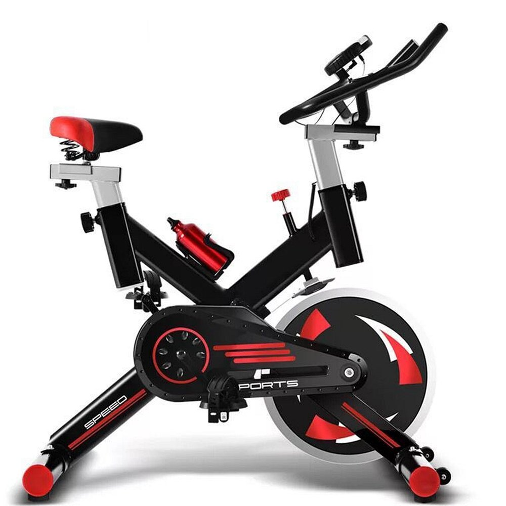 Indoor Radfahren Heimtrainer, Sport Aerobic Training Zyklus Heimtrainer Fitness Cardio Workout Einstellbare Geschwindigkeit