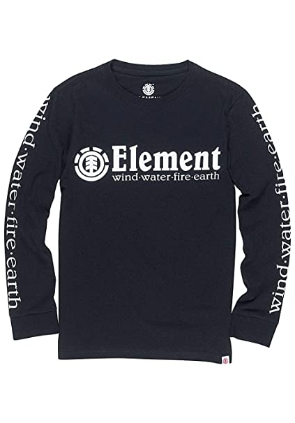 Element Horizontal LS Boy Negro