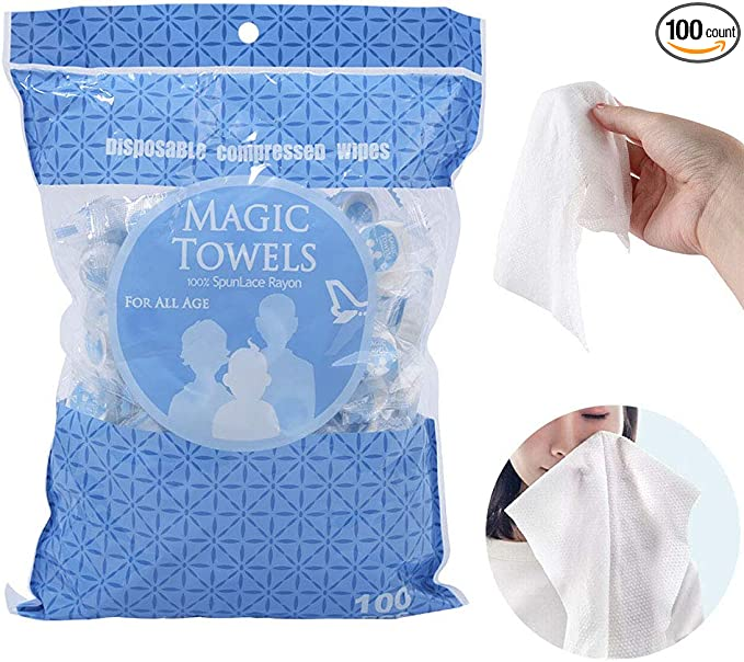 RILEY Compressed Magic Towel **FREE POSTAGE**