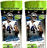 TWO 2020 Panini Absolute NFL Football 20 Card Value