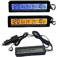 Hinmay Termómetro para Coche con medidor de Temperatura