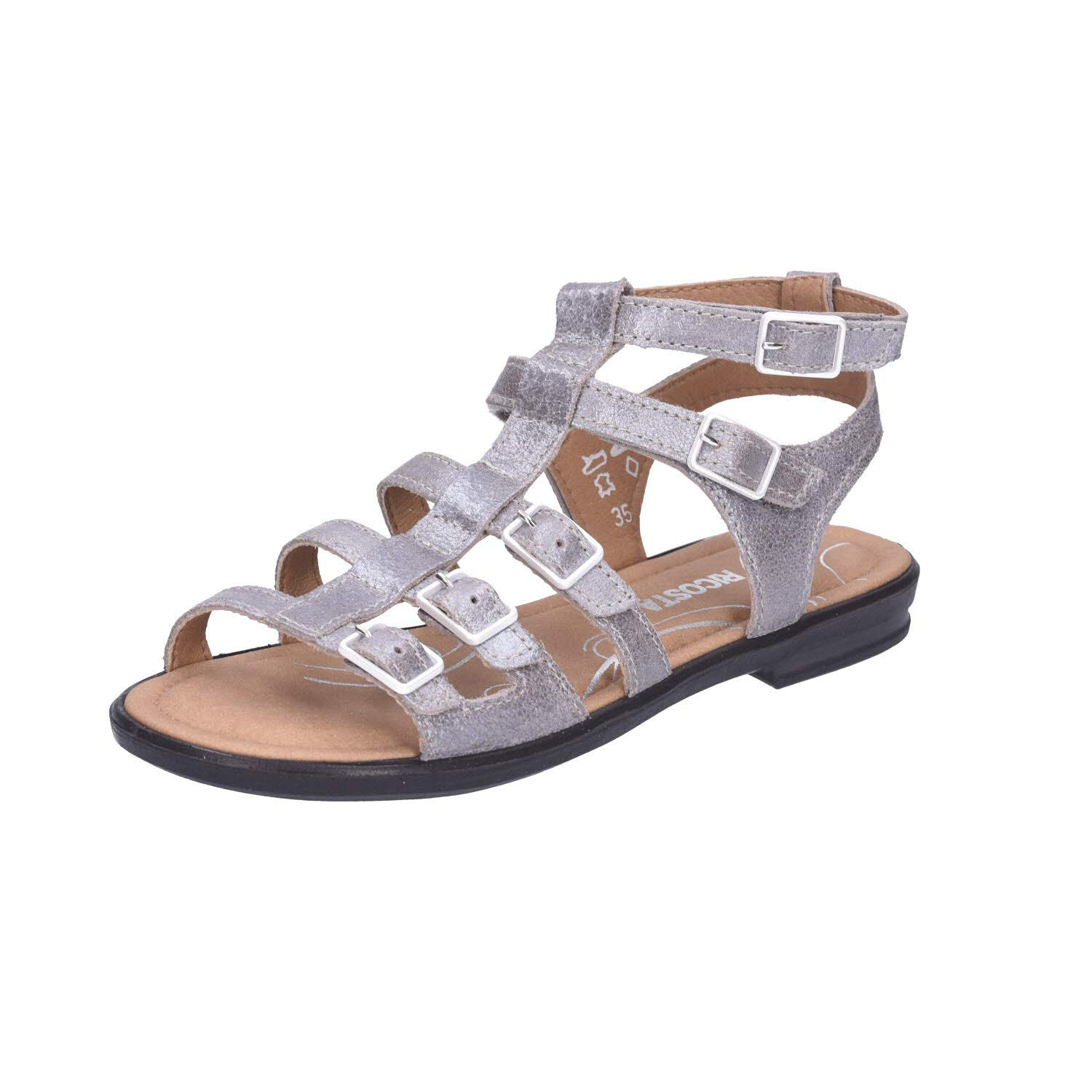 Taupe RICOSTA Anke, Bout Ouvert Femme