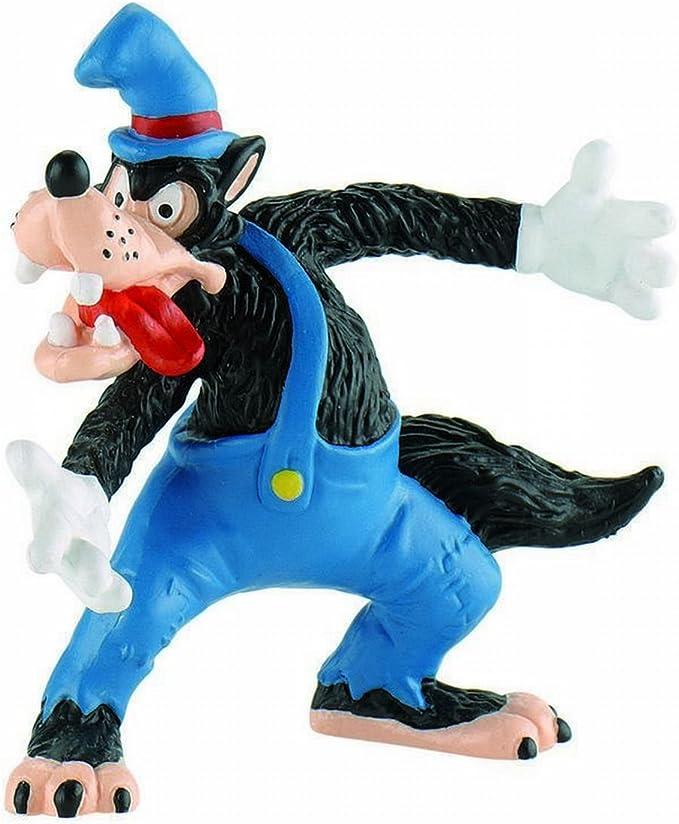 BULLYLAND - Walt Disney El Lobo de Los Tres Cerditos: Amazon.es ...