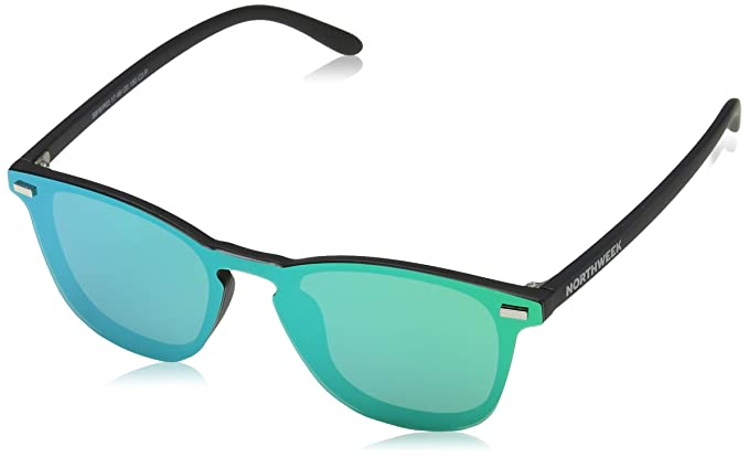 NORTHWEEK Wall Phantom Venice Gafas de Sol, Green, 136 Unisex