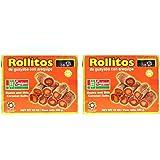 Amazon.com : Castipan Rollitos de Guayaba Con Arequipe 12 Oz ...
