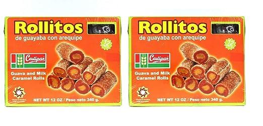 Castipan Rollitos de Guayaba Con Arequipe 11.99 oz. 12 oz ...