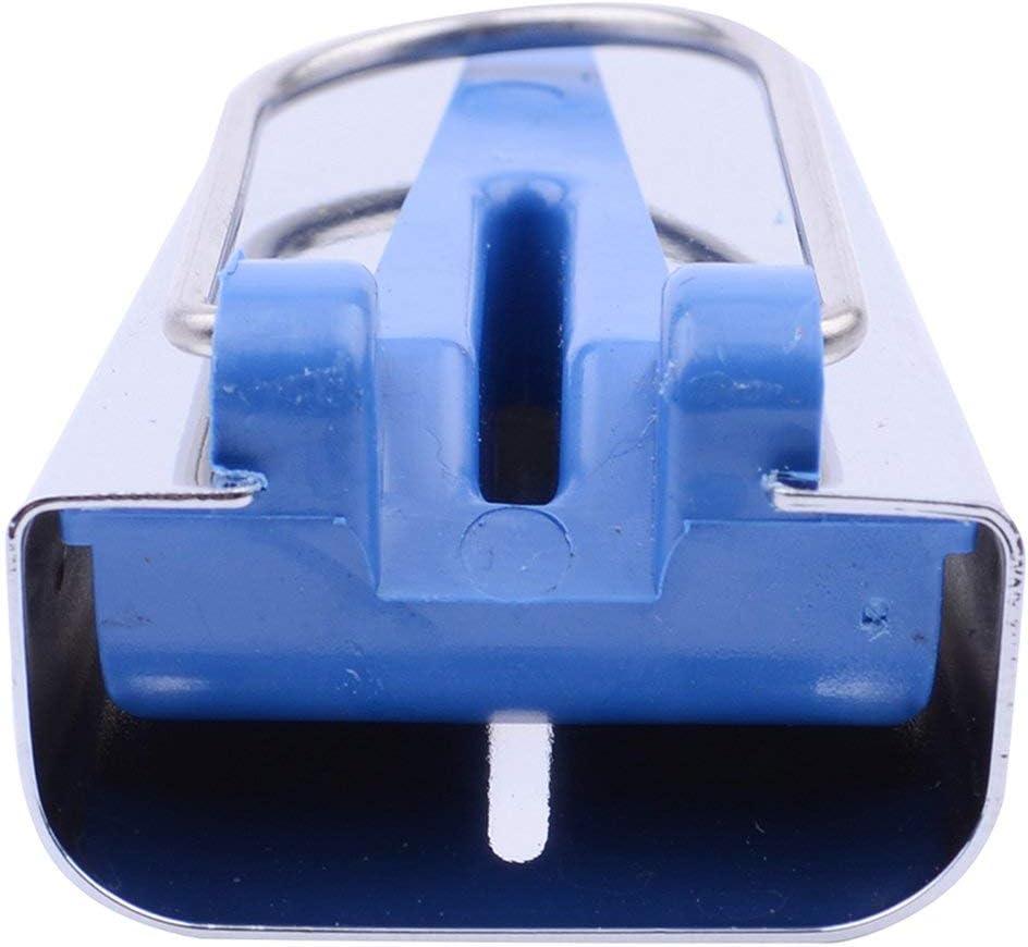 DN00351 Haushalt Patchwork Werkzeugg/ürtel-Hersteller Edger Pull-Zylinder-Dekor Beader Handwerkzeuge Rand N/ähzubeh/ör 25MM Blau