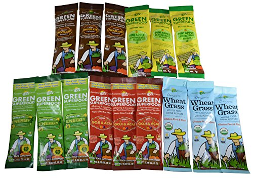 Amazing Grass Superfood Packets Variety