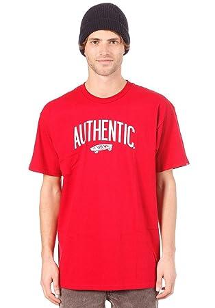 4ee1fd514b Vans Authenticity Men s T-Shirt  Amazon.co.uk  Clothing