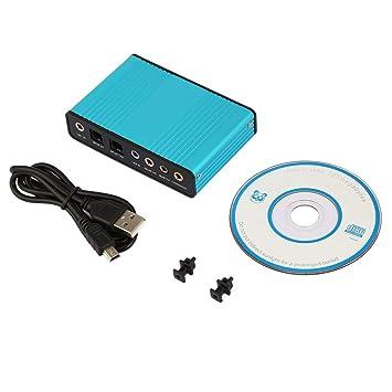 Libertroy Tarjeta de Sonido USB Externa Profesional Canal ...