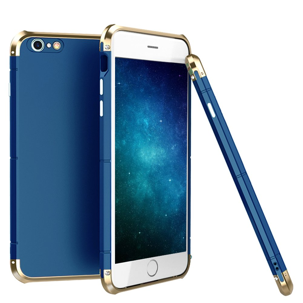 new arrival f6de7 f329d iPhone 7 Case,3 In 1 Aluminum Metal Bumper Frame With Hard Plastic PC Back  Cover, Full Body Shockproof Heavy Duty Protection Shell Case for Apple ...