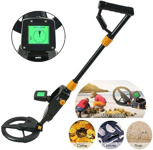 Detector de Metales Resistente al Agua Ligero Pantalla LCD ...