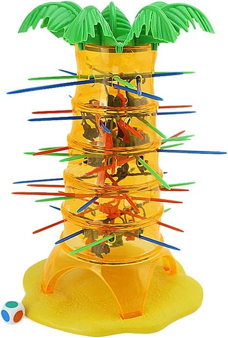 NSSZ - Juego Interactivo de Mesa para niños y Padres, diseño de Mono Dumping: Amazon.es: Deportes y aire libre