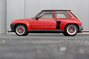 Poster of Renault 5 Five Turbo 2 T2 Classic Hot Hatch HD 24 x 16 Inch