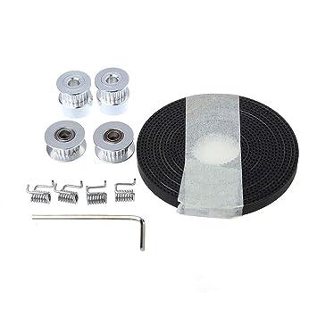Runrain GT2 - Cinturón de sincronización para Impresora 3D (2,5 m ...