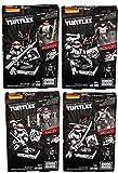 Mega Bloks Teenage Mutant Ninja Turtles 4 Pack - Leonardo / Raphael / Michelangelo / Donatello - Raphael Eastman & Laird Collector's Figure by Mega Brands