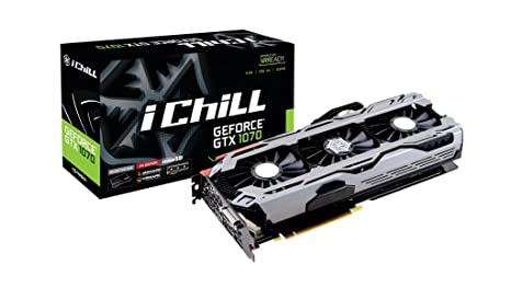 Inno3D GeForce GTX 1070 iChiLL X4 8GB GDDR5 Tarjeta gráfica ...