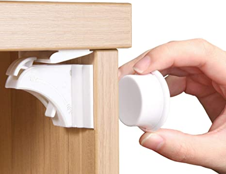 Child Safety Cabinet Locks Baby Cupboard Locks for Drawers and Kitchen Cabinets