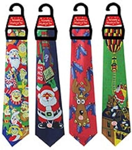 Divertido corbata de Navidad Musical - ONE solo: Amazon.es: Hogar