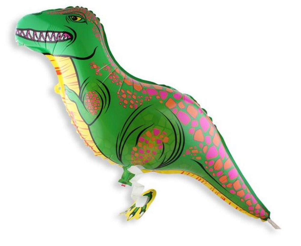 Walking Dinosaur Helium Balloon Birthday Kids Party Toy Set of 10