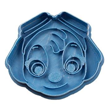Cuticuter Skye Cara Paw Patrol cortador de galletas, azul. 8x7x1,5cm: Amazon.es: Hogar