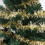 36 FT Christmas Garland Classic Christmas Decorations, Gold