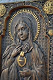 Immaculate Heart of Mary Icon Durable UNIQUE christian gift for women Wood Carved religious wall plaque FREE ENGRAVING FREE SHIPPING