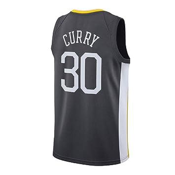 KETRL Camisa Bordada Aficionados Warriors Curry Jersey para Hombre (Gris-1, L): Amazon.es: Deportes y aire libre
