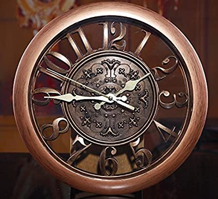Amazon.com : 3D Wall Clock Saat Clock Reloj de Pared Duvar Saati Vintage Digital Wall Clocks Relogio de Parede Watch Horloge Murale Quartz : Everything Else