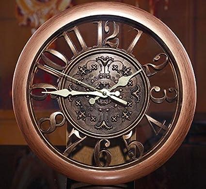 Amazon.com : 3D Wall Clock Saat Clock Reloj de Pared Duvar Saati Vintage Digital Wall Clocks Relogio de Parede Watch Horloge Murale Quartz : Everything Else