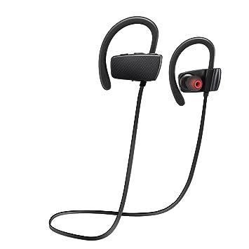 ROKOO Auriculares Bluetooth Auriculares inalámbricos Deportivos a Prueba de Agua para iPhone Samsung: Amazon.es: Electrónica