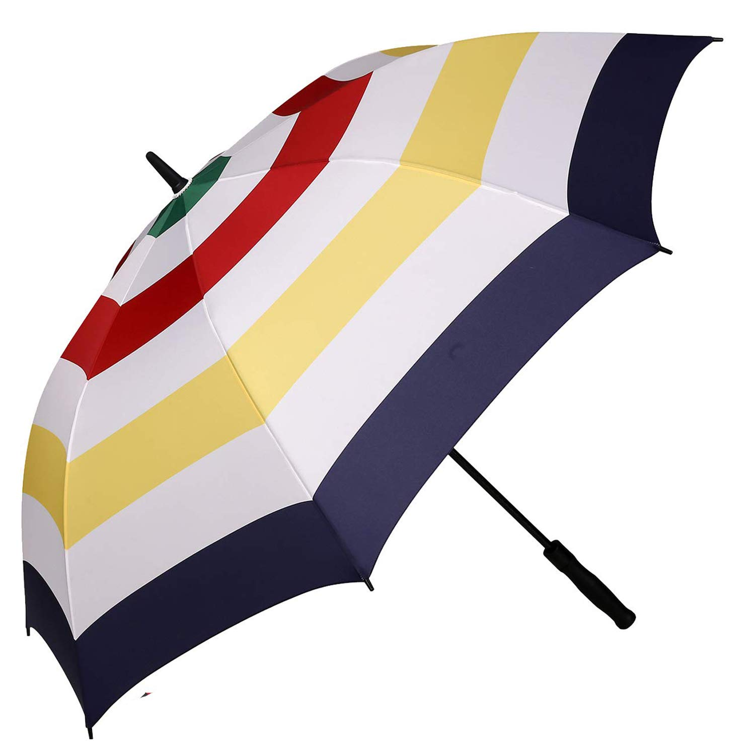 BAGAIL Golf Umbrella 68/62/58 Inch Large Oversize Windproof Waterproof Automatic Open Stick Umbrellas for Men and Women (Color Stripe, 68 inch) by BAGAIL