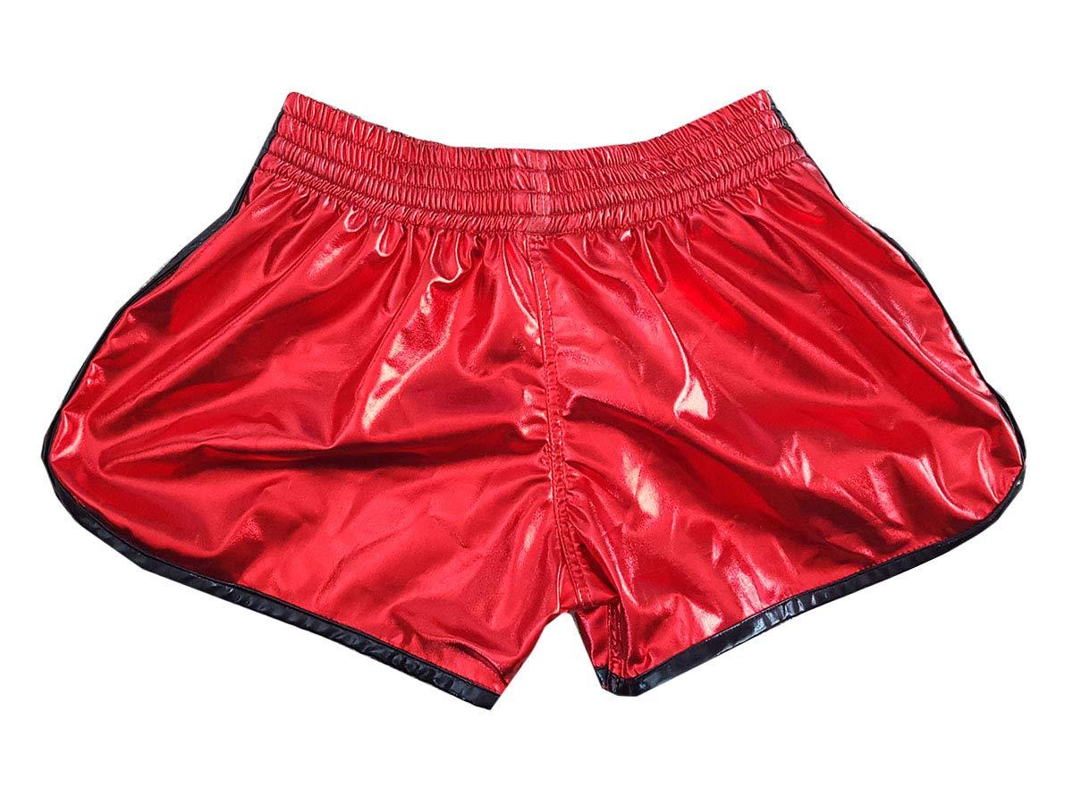 Kanong Muay Thai Kick Boxen Hose Hosen Shorts KNS-118-Pink-XL