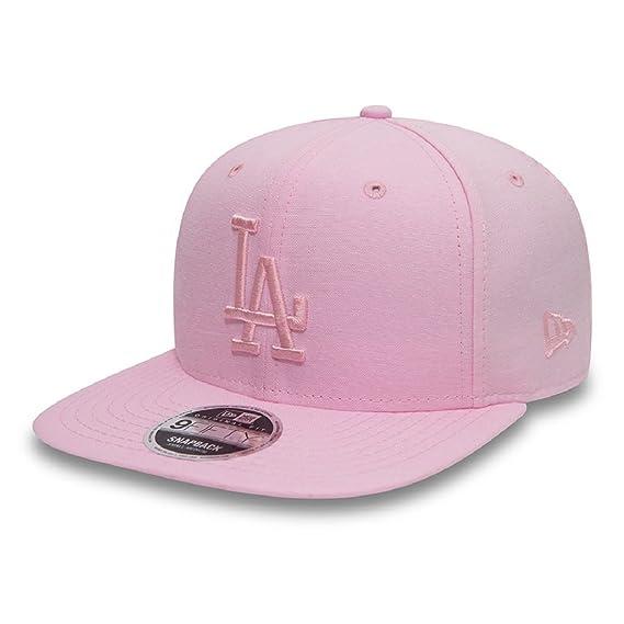 half off d9850 d7bcc New Era Hats 9FIFTY L.A. Dodgers Snapback Cap - Oxford MLB - Pink