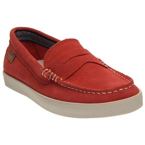 5b0af242767d Lacoste Women s Korlas 2 Light Red Loafer