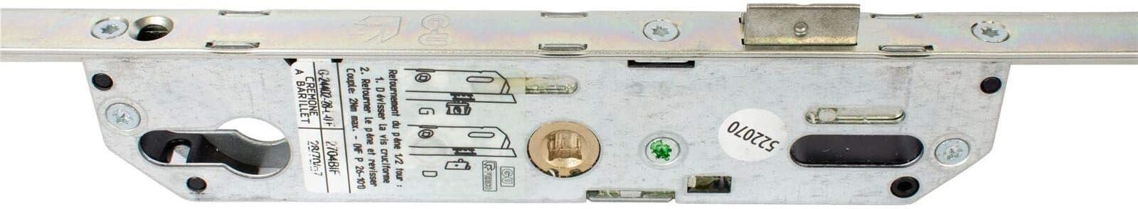 3200 MPL con rodillo 28 mm turbadoras 4 Ferco 5,28 homesecure de Pont para cerradura cil/índrica de puerta
