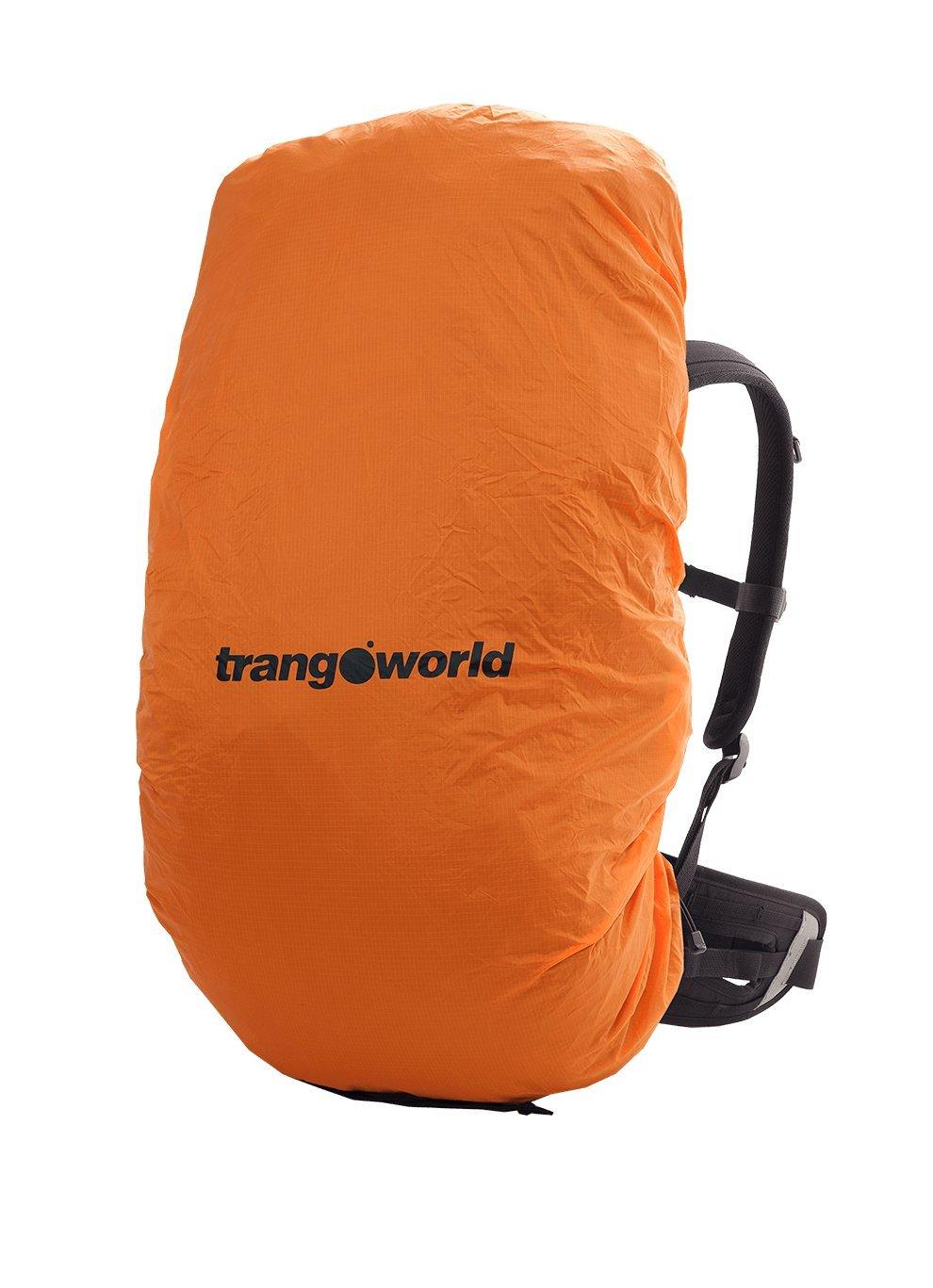 TRANGO Light On Cubre Mochilas, Unisex Adulto, Naranja, L: Amazon.es: Deportes y aire libre