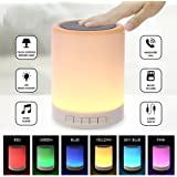 jogger Multi-function Wireless LED Bluetooth Speaker with Smart Touch, AUX Input with Mic, SD Card and 3.5mm Jack(Multicolour)