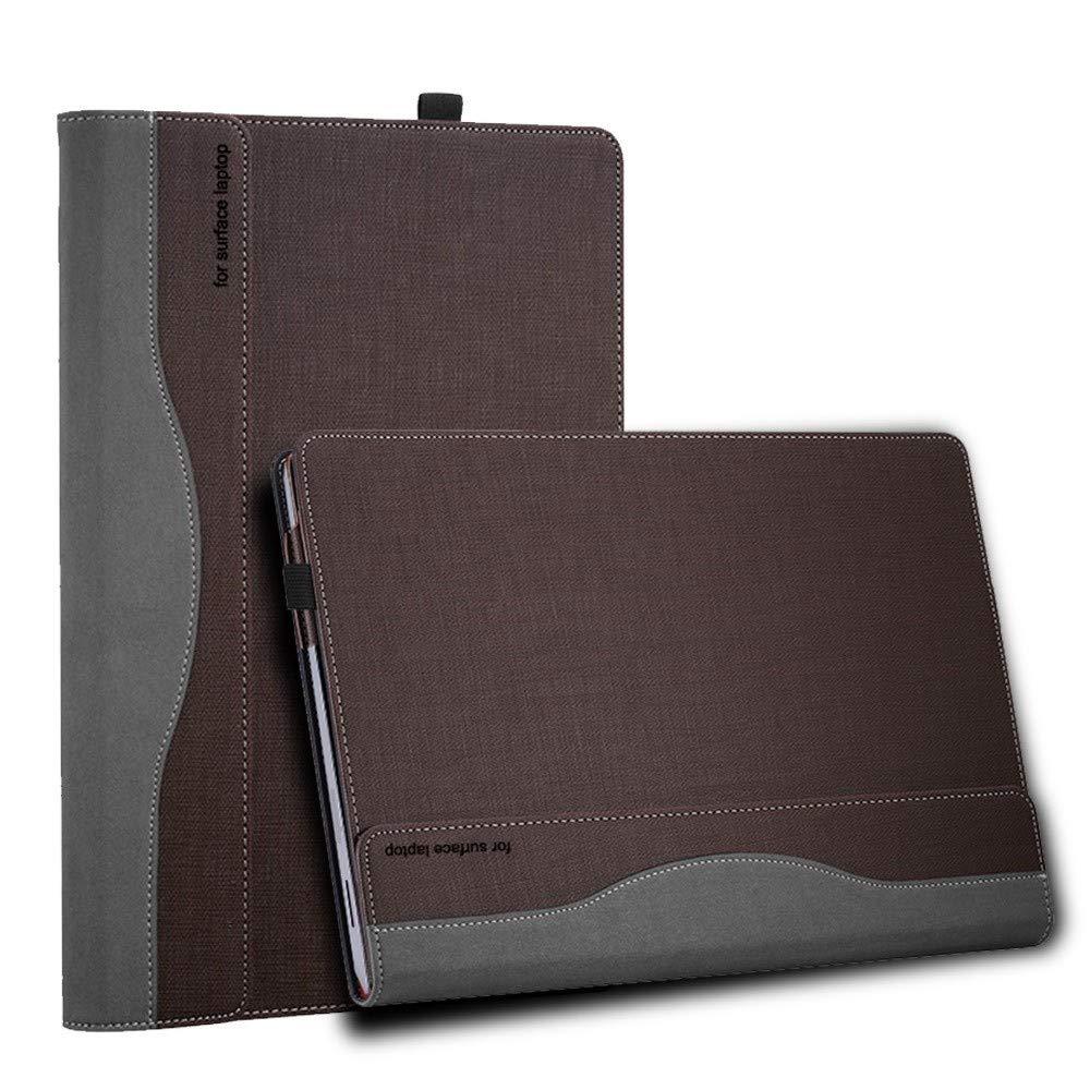 人気特価 AICEDA Microsoft B07NQF455W Surface Surface コーヒー ノートパソコン 1 2 13.5インチケース バックカバー 丈夫な保護ケース プレミアムPUレザーカードスロット ウォレットスタイル 丈夫な保護ケース キックスタンドフリップカバーケース付き, R5GX-DM-932 コーヒー B07NQF455W, 赤穂郡:dbeac6b2 --- senas.4x4.lt