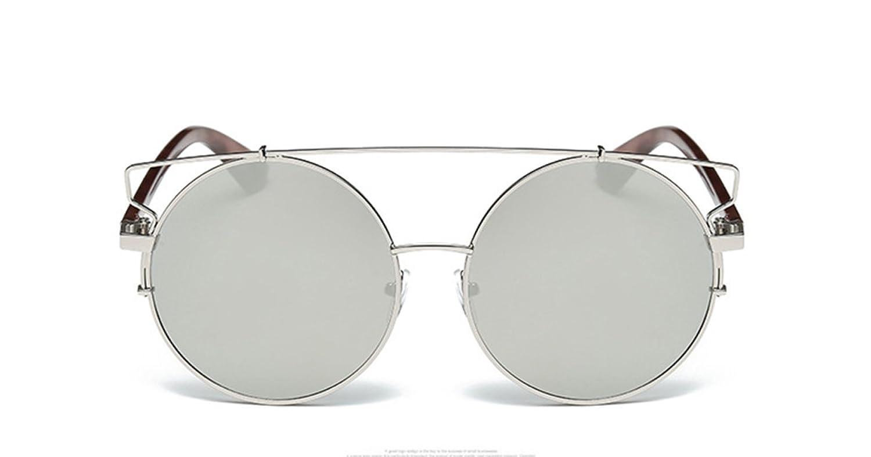 Wer Bin Ich Frau Fashion Metall Runden Rahmen Sonnenbrille ...
