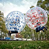 i-mesh-bean iMeshbean 2PCS Inflatable Bumper Bubble Soccer Ball Dia 5 FT/1.5M Human Hamster Ball for Adults and Kids M#301 USA