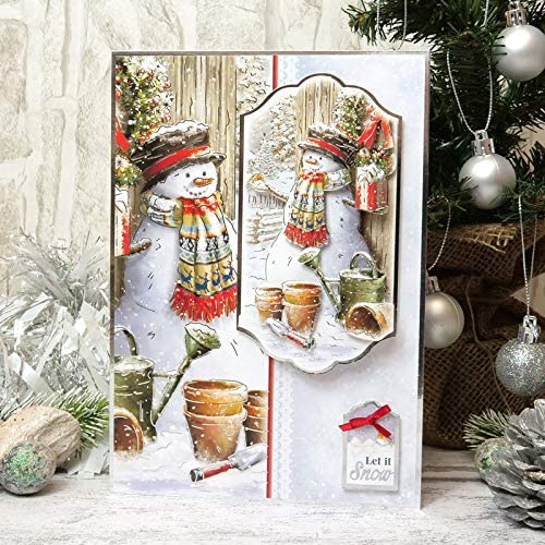 A Friendly Snowman Luxury Topper Set