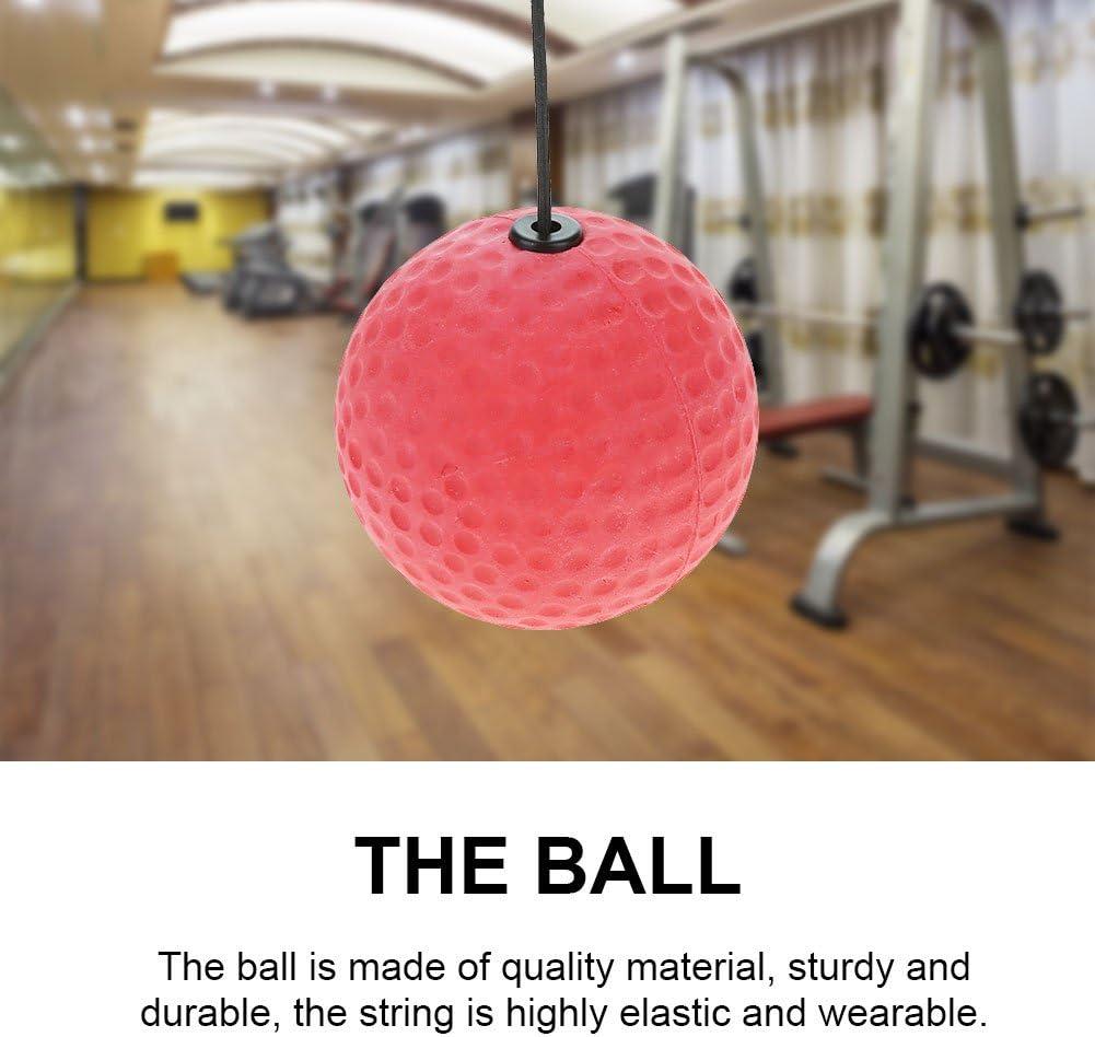 Fafeims Bola de Ejercicio de Golpe de Boxeo Bola de Diadema de Velocidad de Boxeo para Entrenamiento de Velocidad refleja